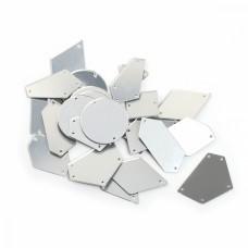 Акриловые стекла M1301 цв.Silver, уп.50шт