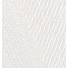 Пряжа для вязания Ализе Diva (100% микрофибра) 5х100г/350м цв.1055 сахарно-белый
