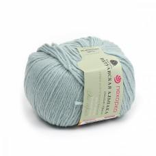 Пряжа для вязания ПЕХ Перуанская альпака (50% альпака, 50% меринос шерсть) 10х50г/150м цв.1159 бирюзовый меланж