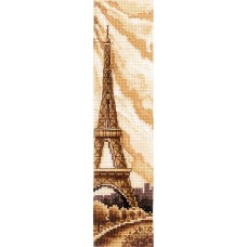 Набор для вышивания СДЕЛАЙ СВОИМИ РУКАМИ З-52 Закладки. Париж 5,5х22 см
