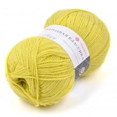 Пряжа для вязания ПЕХ Народная классика (30% шерсть, 70% акрил) 5х100г/400м цв.1156 св.липа