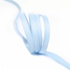 Лента Ideal репсовая в рубчик шир.6мм цв. S351 голубой уп.27,42м