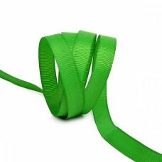 Лента Ideal репсовая в рубчик шир.10мм цв. 579 ярк.зеленый уп.27,42м