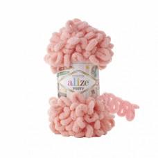 Пряжа для вязания Ализе Puffy (100% микрополиэстер) 5х100г/9.5м цв.529 персиковый