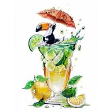 Набор юного художника Molly KH1041 Освежающий коктейль 20х30 см