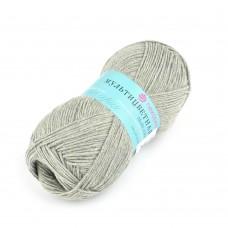 Пряжа для вязания ПЕХ Мультицветная (65% полиэстер, 35% хлопок) 5х50г/180м цв.038 полынь