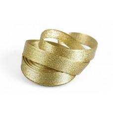 Подарочная лента Парча с3126г17 шир.19мм цв.02 золото уп.25м
