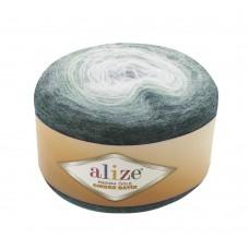 Пряжа для вязания Ализе Angora Gold Ombre Batik (20% шерсть, 80% акрил) 4х150г/825м цв.7230