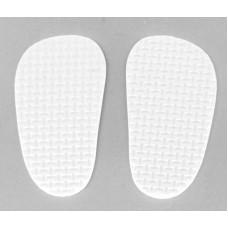 Подошва для изготовления обуви КЛ.25137 толщ.4мм 4х7см 1 пара белый