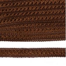Тесьма TBY декоративная Самоса V02 шир.18мм цв.коричневый F300 уп.18,28м