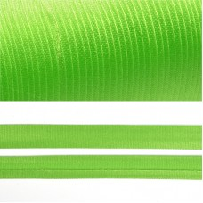Косая бейка TBY атласная шир.15мм цв.F238 зеленый уп.132 м