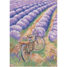 Набор для вышивания PANNA  ПС-1899 Красота прованса 21,5х29,5 см