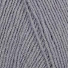 Пряжа для вязания Ализе LanaGold Fine (49% шерсть, 51% акрил) 5х100г/390м цв.200 серый