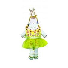 Набор для шитья и вышивания текстильная игрушка МП-24х13- 8005 Зайка Зоя
