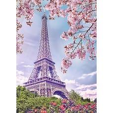 Алмазная мозаика на холсте ГРАННИ Ag542 Весна в Париже 27х38см
