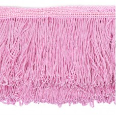 Бахрома шелковая FD-10 шир.10см цв.094 розовый уп.10м