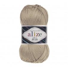 Пряжа для вязания Ализе Diva Plus (100% микрофибра акрил) 5х100г/220м цв.314 кофейная пенка