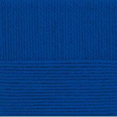 Пряжа для вязания ПЕХ Народная традиция (30% шерсть, 70% акрил) 10х100г/100м цв.491 ультрамарин