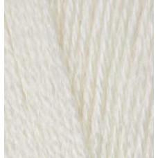 Пряжа для вязания Ализе Superlana TIG (25% шерсть, 75% акрил) 5х100г/570 м цв.599 слоновая кость
