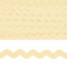 Тесьма декоративная Вьюнчик TBY.64312 шир.5мм цв.F102 молочный уп.32,92м