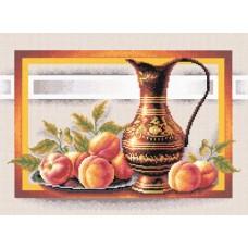 Набор для вышивания PANNA Н-0295 Натюрморт с персиками 38х24,5 см