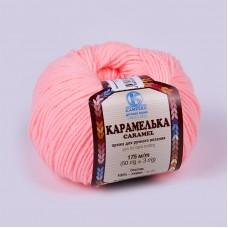 Пряжа для вязания КАМТ Карамелька (100% акрил) 10х50г/175м цв.102 св.амалия