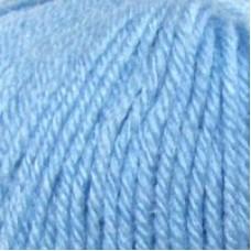 Пряжа для вязания ПЕХ Детский каприз (50% мериносовая шерсть, 50% фибра) 10х50г/225м цв.005 голубой