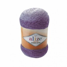 Пряжа для вязания Ализе Softy Plus Ombre Batik (100% микрополиэстер) 1х500г/600м цв.7298