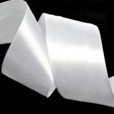 Лента атласная 2 (50мм) цв.3001 кипенно-белый IDEAL уп.27,4 м