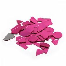 Акриловые стекла M1303 цв.Pink, уп.50шт
