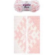 Пряжа для вязания Ализе Puffy More (100% микрополиэстер) 2х150г/11,5м цв.6272