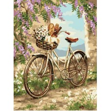 Картины по номерам Пикник ME1080 30х40 тм Цветной