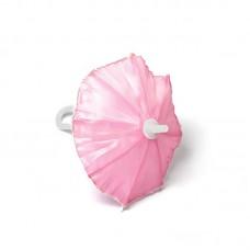 Зонт маленький КЛ.22946 16см пластмассовый св.розовый