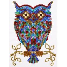 Набор для вышивания PANNA БН-5014 Радужный филин 32 x 20 см
