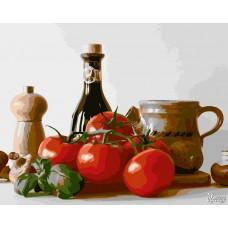 Картины по номерам Русская Живопись ФТ.B003 Итальянский натюрморт 40х50 см