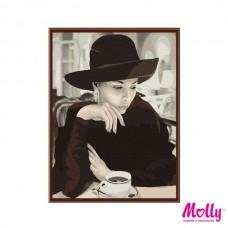 Картины по номерам Molly KH0631 Ожидание (26 цветов) 40х50 см