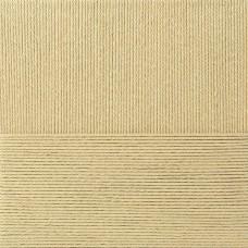 Пряжа для вязания ПЕХ Лаконичная (50% хлопок, 50% акрил) 5х100г/212м цв.003 св.бежевый