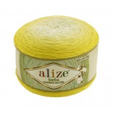 Пряжа для вязания Ализе Bella Ombre Batik (100% хлопок) 2х250г/900м цв.7414