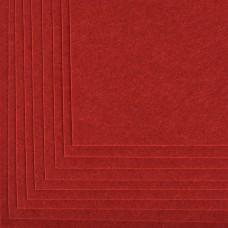 Фетр листовой жесткий IDEAL 1мм 20х30см FLT-H1 уп.10 листов цв.617 бордовый
