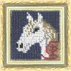 Набор для вышивания Вышивальная мозаика  159ЗД.Лошадка 6,5х6,5см