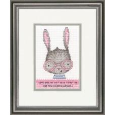 Набор для вышивания DIMENSIONS DMS-70-65183 Rose Colored Classes 12,7х17,8 см