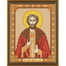Рисунок на ткани бисер НОВА СЛОБОДА МАХ.БИС-А4.5-5186  Св. Князь Олег