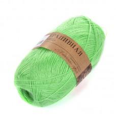 Пряжа для вязания ПЕХ Крапивная (100% крапива) 5х50г/250м цв.041 салатовый
