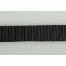 Тесьма брючная 3704 шир.15мм цв.1 черный уп.50 м