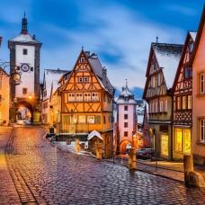 Картины мозаикой Molly KM0923 Ротенбург. Германия 30х30 см