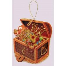 Наборы для вышивания декоративных игрушек BUTTERFLY  F100 Сундук