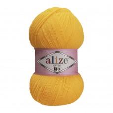 Пряжа для вязания Ализе Extra Life (100% акрил) 5х100г/480м цв.914 лимонный