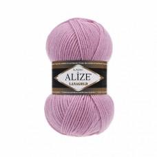 Пряжа для вязания Ализе LanaGold (49% шерсть, 51% акрил) 5х100г/240м цв.098 розовый