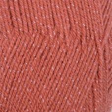 Пряжа для вязания КАМТ Праздничная (48% кашмилон, 48% акрил, 4% метанин) 10х50г/160м цв.088 брусника