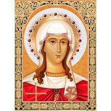 Набор для изготовления картин АЛМАЗНАЯ ЖИВОПИСЬ АЖ.1843 «Икона Святая Татьяна» 30х40 см